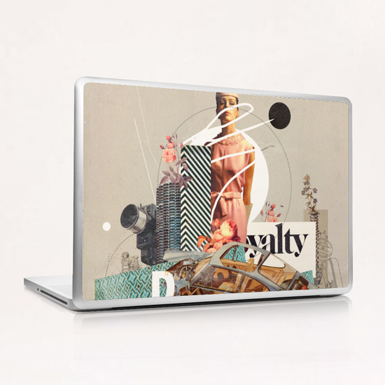 Spirited Royalty Laptop & iPad Skin by Frank Moth