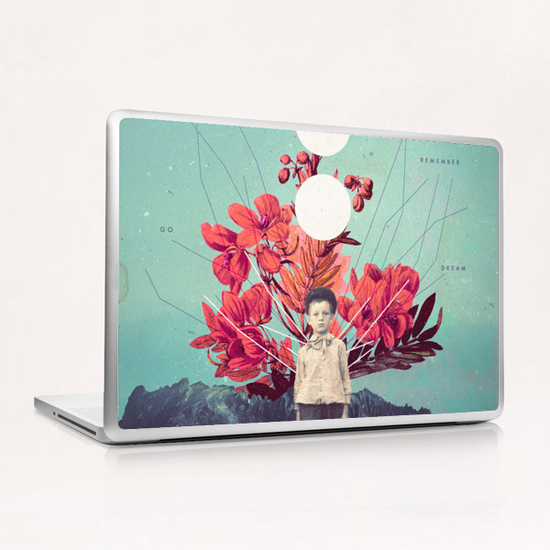 Standing at the Threshold of Tome Laptop & iPad Skin by Frank Moth