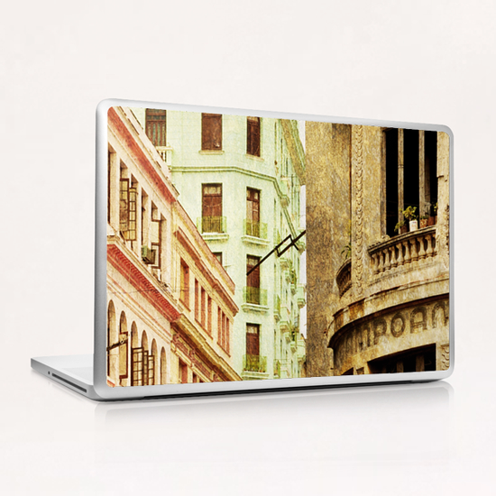 Street In Cuba Laptop & iPad Skin by fauremypics