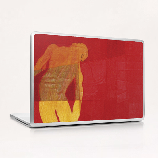 Tension Laptop & iPad Skin by Pierre-Michael Faure