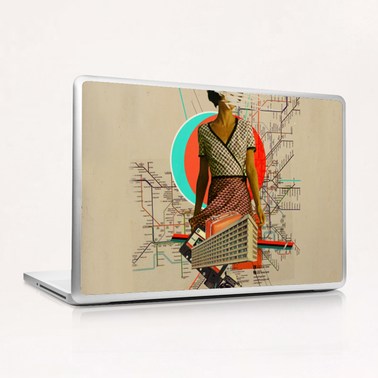 Traveller Laptop & iPad Skin by Frank Moth