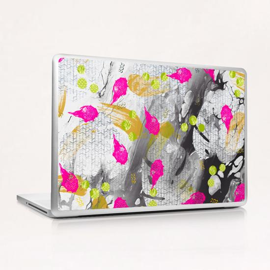 Tropical marble abstract Laptop & iPad Skin by mmartabc