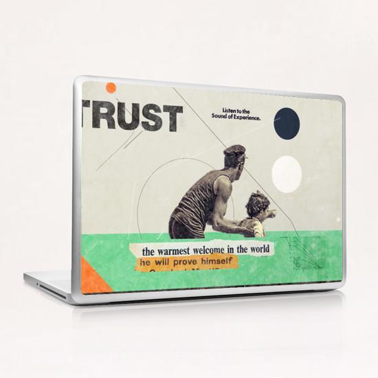 Trust Laptop & iPad Skin by Frank Moth