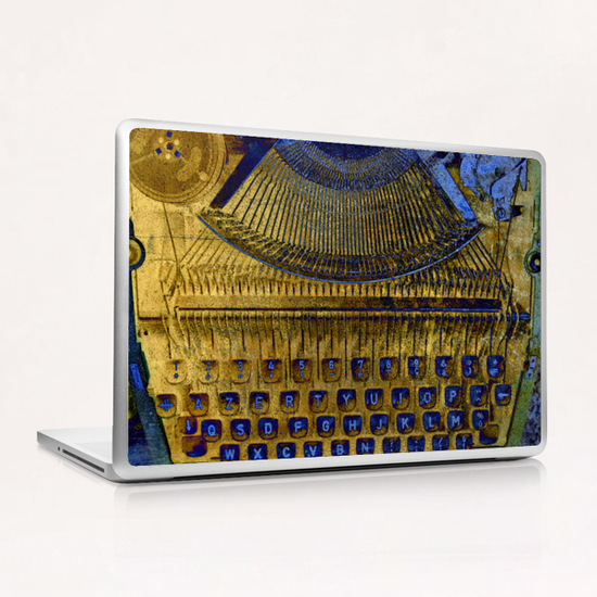My Old Silver Reed Laptop & iPad Skin by Ivailo K
