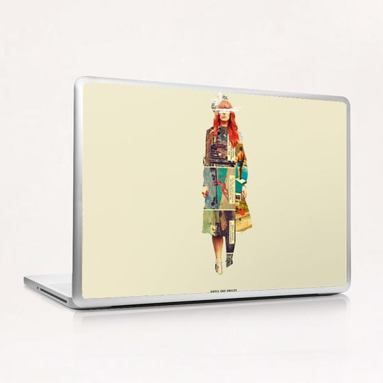 Until She Smiles Laptop & iPad Skin by Frank Moth