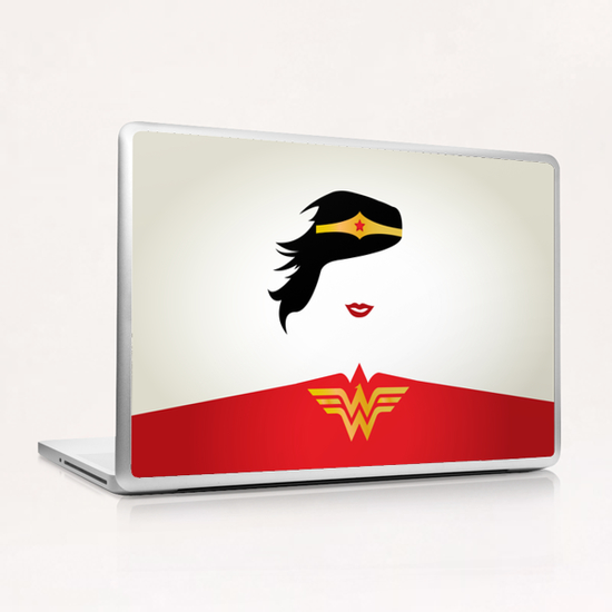 WONDER WOMAN Laptop & iPad Skin by Roberto Caporilli