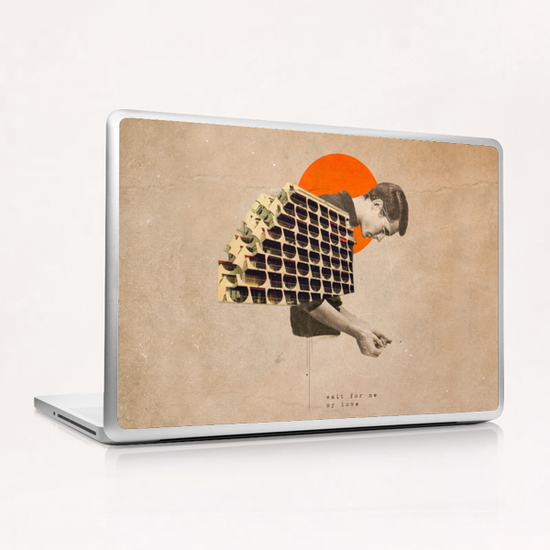 Wait For Me Laptop & iPad Skin by Frank Moth