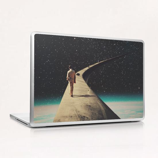We Chose This Road My Dear Laptop & iPad Skin by Frank Moth