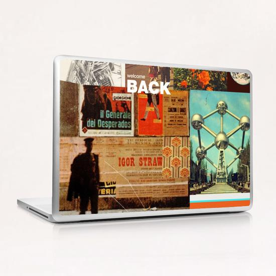 Welcome Back Laptop & iPad Skin by Frank Moth