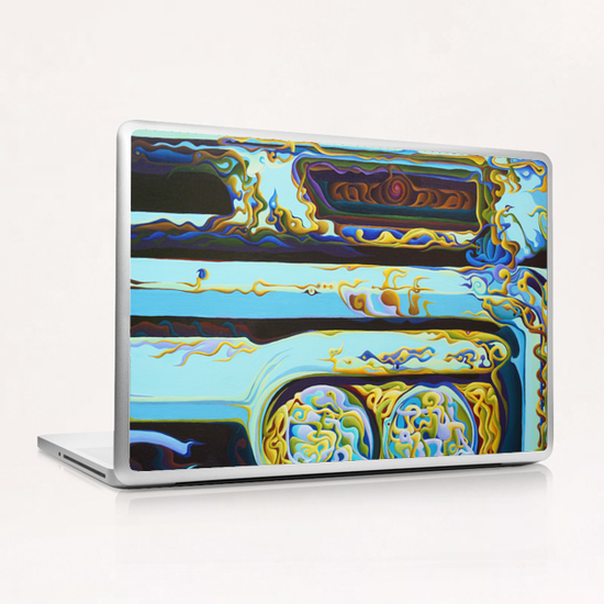 WooHooxidaisical Corruptionation Laptop & iPad Skin by Amy Ferrari Art