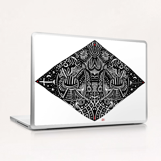 3 sommets #1 Laptop & iPad Skin by Denis Chobelet