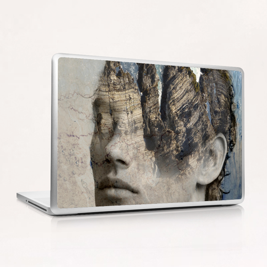 The sound of waves Laptop & iPad Skin by Vic Storia