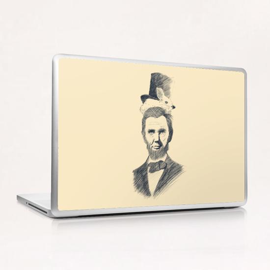 Abraham Kadabraham Laptop & iPad Skin by Tobias Fonseca