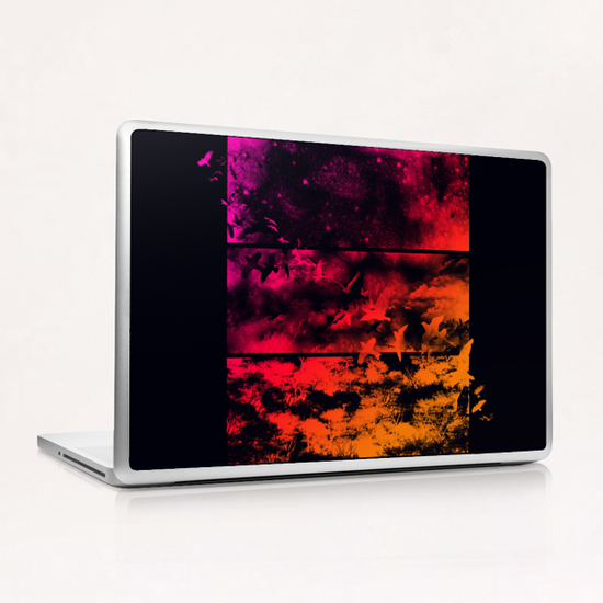 Across The Atmosphere Laptop & iPad Skin by Tobias Fonseca