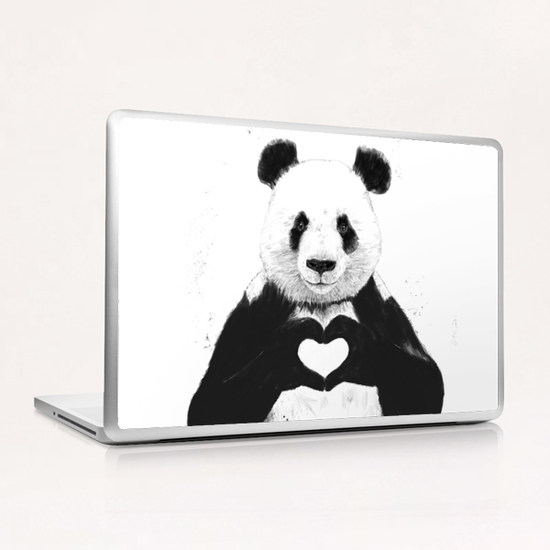 All you need is love Laptop & iPad Skin by Balazs Solti