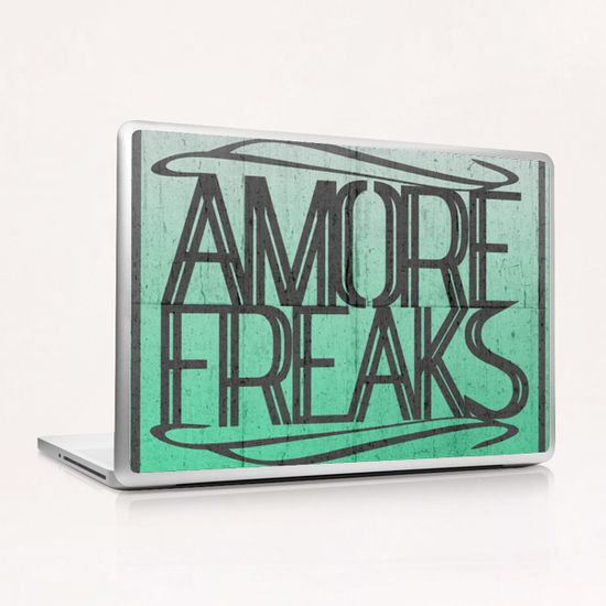 AMORE FREAKS Laptop & iPad Skin by Chrisb Marquez