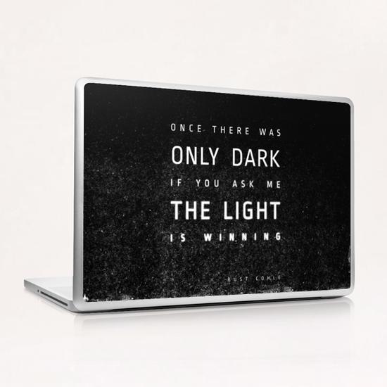 LIGHT vs DARK Laptop & iPad Skin by DANIEL COULMANN