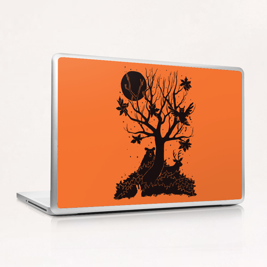 Autumn Forest Laptop & iPad Skin by Tobias Fonseca