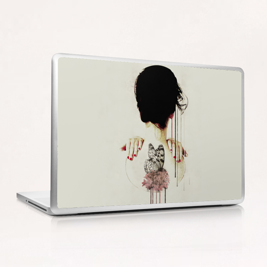 Portrait - Backage Laptop & iPad Skin by Galen Valle