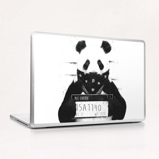 Bad panda Laptop & iPad Skin by Balazs Solti