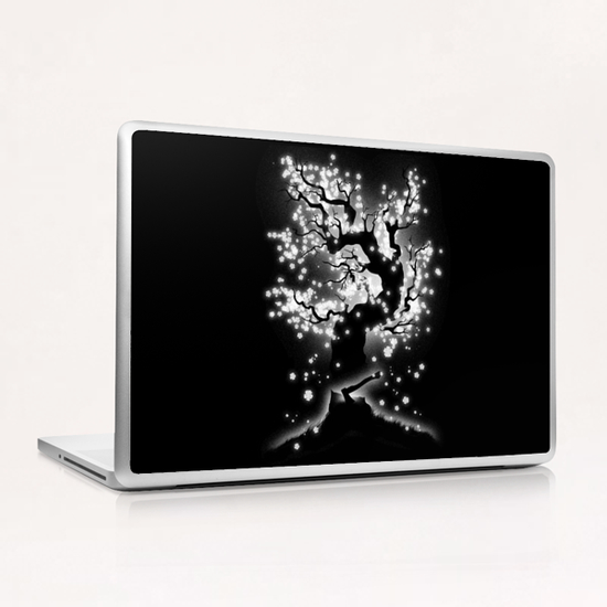 Beauty Cannot Be Interrupted Laptop & iPad Skin by Tobias Fonseca