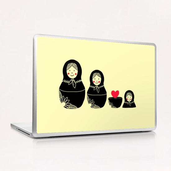 Beauty Inside Laptop & iPad Skin by Tobias Fonseca