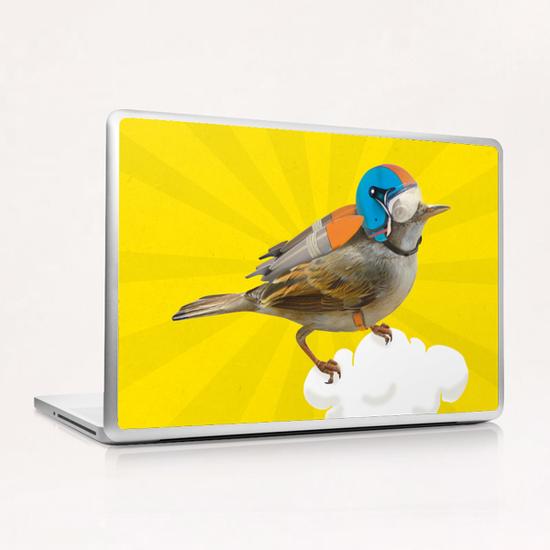 Rocket Bird Laptop & iPad Skin by tzigone