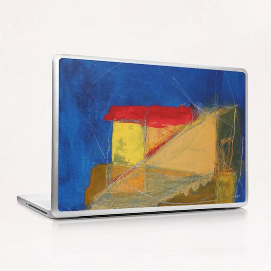 Bleu Profond Laptop & iPad Skin by Pierre-Michael Faure
