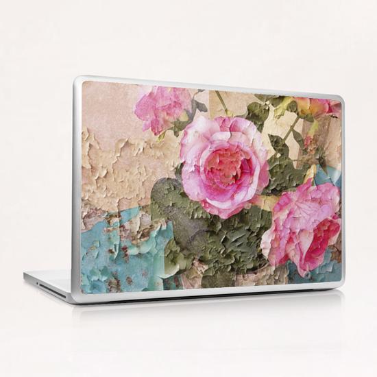 Roses de Lourmarin Laptop & iPad Skin by Ivailo K