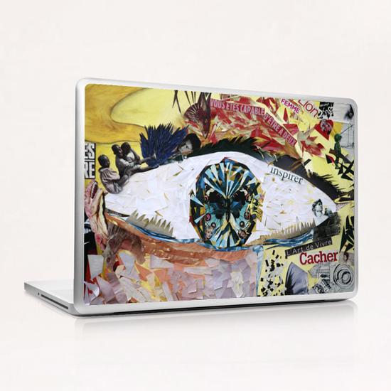 avoir peur et se cacher Laptop & iPad Skin by frayartgrafik