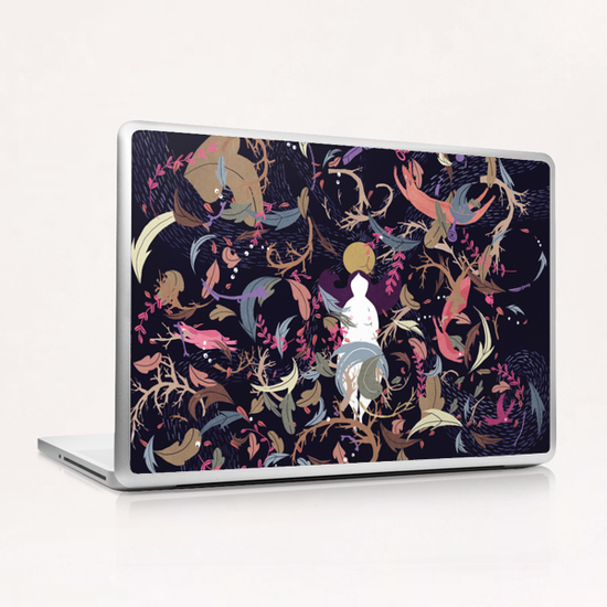Chaos Laptop & iPad Skin by Florehenocque