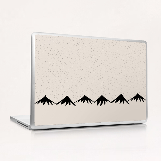 Snow and mountain by PIEL Laptop & iPad Skin by PIEL Design