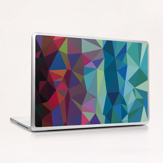 From Red to Blue Laptop & iPad Skin by Vic Storia