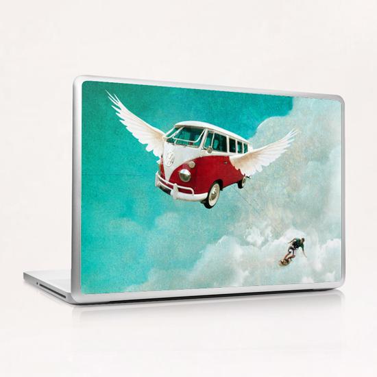 Sky-surf Laptop & iPad Skin by tzigone