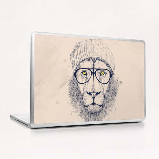 Cool lion Laptop & iPad Skin by Balazs Solti