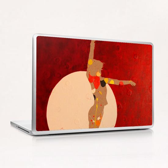 Dancing In The Moon Laptop & iPad Skin by Pierre-Michael Faure