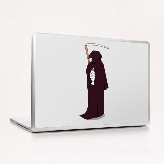 Deathjoke Laptop & iPad Skin by Alex Xela