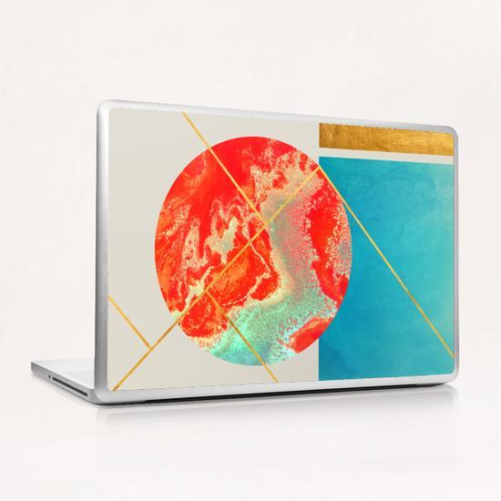 Earth & Sea Laptop & iPad Skin by Uma Gokhale