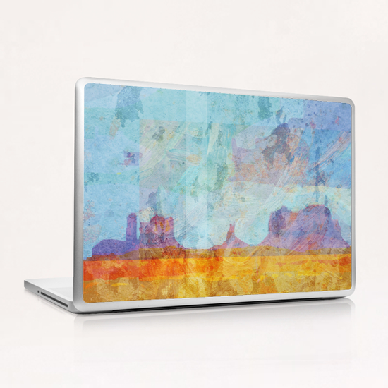 Monument VAlley Laptop & iPad Skin by Malixx