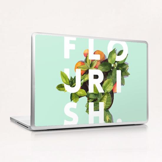 Flourish Laptop & iPad Skin by Uma Gokhale