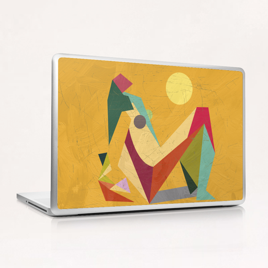 Glaring Sunlight Laptop & iPad Skin by Vic Storia