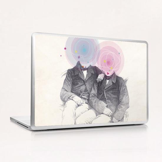 Goncourt Brothers Laptop & iPad Skin by tzigone