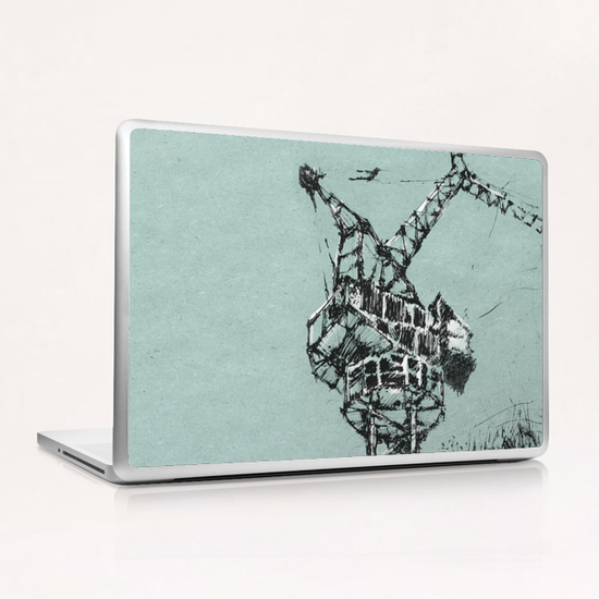 Crane Laptop & iPad Skin by Georgio Fabrello