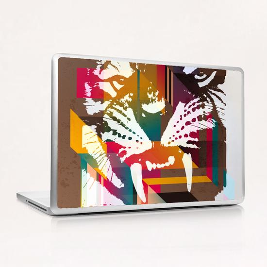 Roar! Laptop & iPad Skin by Vic Storia