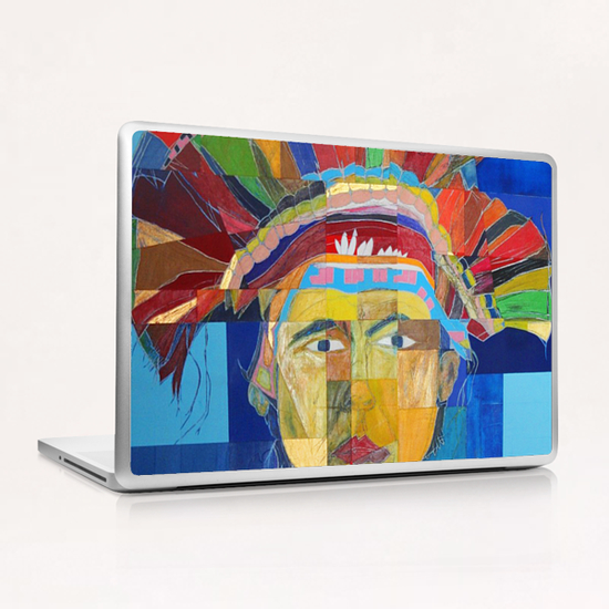 Indian  Laptop & iPad Skin by Pierre-Michael Faure