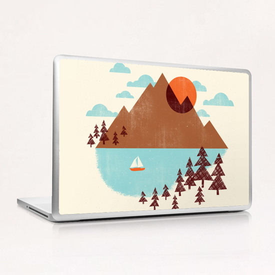 Indian Summer Laptop & iPad Skin by Jenny Tiffany