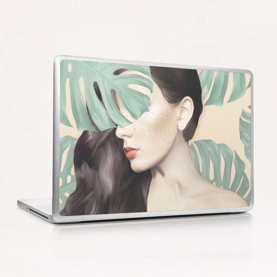 Monstera Suara Laptop & iPad Skin by Nettsch