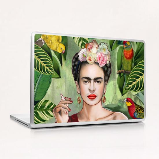 Frida con amigos Laptop & iPad Skin by Nettsch