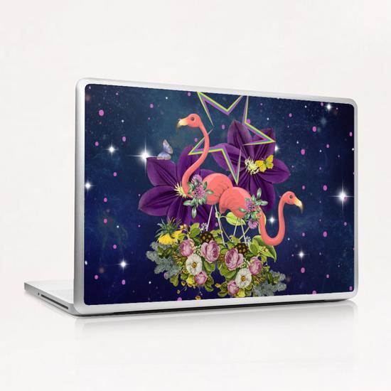 FLAMINGOS  Laptop & iPad Skin by GloriaSanchez