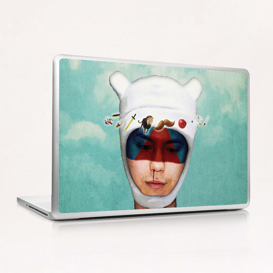 adventurous mind Laptop & iPad Skin by Seamless